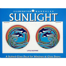 Little Dolphins Sunlight Small Window Decals