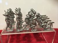 Lead ?? American WW 1 Soldiers from mold 52X2 Lot of 22 SOLDIERS Vintage