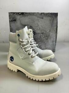 Men's Timberland Frost Bite Leather Work Boots Size 7M