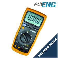 Multimetro digitale professionale LCD 4 digit sonda temperatura autorange DM313