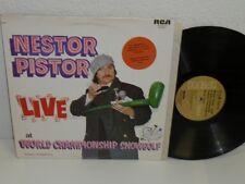 NESTOR PISTOR Live At World Championship SnowGolf Prince George LP RCA KXLI-0173