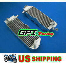 GPI R&L aluminum radiator Suzuki RM250 RM 250 91-92 1991 1992