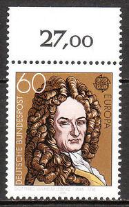 BRD 1980 Mi. Nr. 1050 Postfrisch mit Oberrand LUXUS!!! (6433)