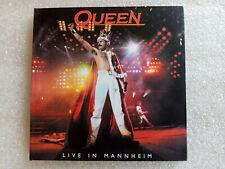 QUEEN live in mannheim 1986.. digipack 2CD