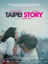 Affiche Pliée 40x60cm TAIPEI STORY (1985) Edward Yang, Hsiao-Hsien Hou R2017 TBE