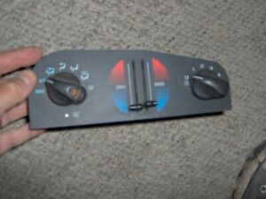 95 96 97 98 99 01Chevrolet Lumina Monte Carlo heater ac climate control panel