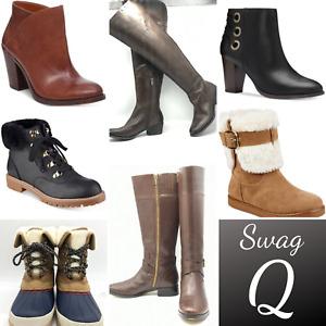 Bulk Wholesale Women Boots NEW Lot 10 Pairs Authentic Designer Brands for Resale