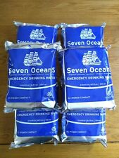 Emergency Drinking Water SEVEN OCEANS 500ml - Survival / MRE / Prepper / Sailing