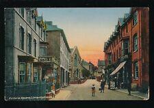Wales Brecknockshire LLANWRTYD WELLS Victoria Square 1916 PPC