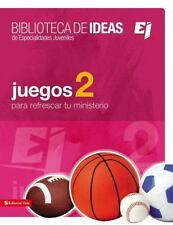Especialidades Juveniles / Biblioteca de Ideas: Juegos 2 by Youth Specialties...