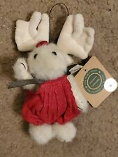 New ListingBoyds Bears Rare Retired White Moose Ornament Mabel Witmoose