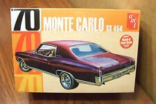 AMT '70 CHEVROLET MONTE CARLO SS454 1/25 SCALE MODEL KIT