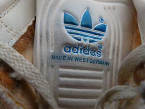 Adidas Fechtschuhe Turnschuhe Trainers Gr (7) 40,5 70er West-Germany