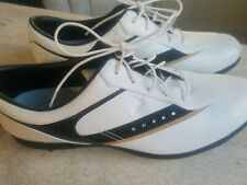 Callaway Womens white Golf Shoes X Series Soft Spike with Rhinestones sz 11