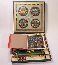 Diamant Mosaic Mosaik Spiel mit Vorlagenheft rar ca. 1910 vintage game