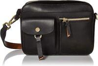 CALVIN KLEIN Front Pocket Rossa Crossbody Bag-Black