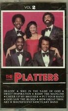 THE PLATTERS - VOL.2 - (GOSPEL) - CASSETTE - NEW - SEALED