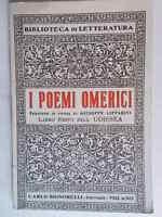 I poemi omerici Libro sesto dell'Odissea omero signorelli 1943 lipparini fenici