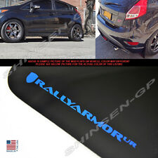 "Rally Armor UR ""Black Mud Flaps w/ Blue Logo"" for 2015-2018 Ford Fiesta ST 5DR"