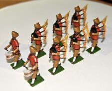 Pipers of the 1st Sikhs, Complete Hocker Set 62, Toy Soldiers