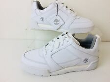 Deadstock Timberland Fulton Ox White Leather Sneakers NIB Men's Size 8M