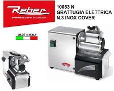 Grattugia elettrica Reber professionale in acciaio formaggio pane 10053N Rotex