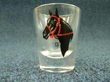 """Horse & Riding Gear Shot Glass 2.25"""" tall (767)"""