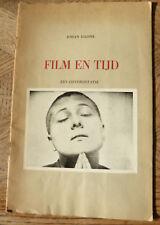 JOHAN DAISNE FILM EN TIJD een confrontatie 1958  envoi de Daisne sur le rabat