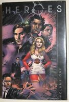 HEROES volume one DC Comics hardcover NBC-TV collection