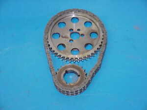 1 Cloyes Billet True Double Roller Timing Chain Set for SB Chevy NHRA IMCA TS1