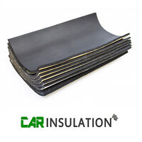 8 Sheets 10mm Self Adhesive Closed Cell Foam Deadening Van Boat Insulation