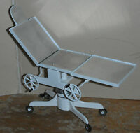 Doll miniature handcrafted Hospital Medical 1920s operating table 1/12th