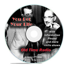 You Bet Your Life, 776 Old Time Radio Quiz, Game Shows Broadcasts mp3 DVD G60