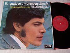 ENGELBERT HUMPERDINCK - RELEASE ME  ~ 1967 UK UNBOXED RED  DECCA LABEL ~ EX