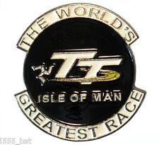 Isle Of Man TT The World's Greatest Race Motorcycle Bike Enamel Motorbike Badge