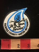 FAIRFAX COUNTY WATER AUTHORITY Virginia Patch Cartoon Water Drop 865