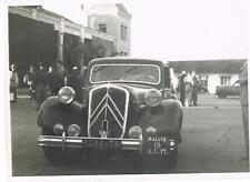 CITROEN Traction avant photo 2ème rallye Madagascar 1952