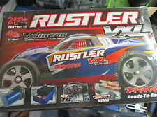 Traxxas Rustler 1/10 truck rolling chassis