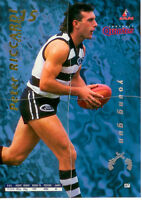 1995 Bewick AFL 4 Quarters Cards Series 2 YOUNG GUN #7--PETER RICCARDI (GEELONG)