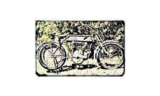 De Luxe 1916 Motorbike Sign Metal Retro Aged Aluminium Bike