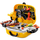 Maintenance Tools Suitcase Toy Repair Tools Carrying Case Pretend Play Kids Toy