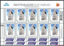 NVPH V 2898  PERSOONLIJKE POSTZEGELS 2012: DELFTS BLAUW KLM-HUISJES EUROPA vel