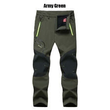 Newly Men Ski Pants Winter Warm Cargo Waterproof Skiing Snowboard Snow Trousers