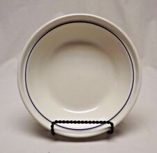 """Longaberger Pottery Woven Traditions Classic Blue 6"""" Pie Plate Take a Look!"""