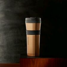 Starbucks Stainless Steel Soft Touch Tumbler Bronze 16 fl oz