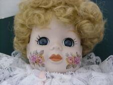 """Brinns 1986 Musical Porcelain Clown Doll 17"""" COA Plays """"Send In The Clowns"""" NEW"""