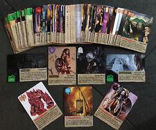 Spellfire - Conquest (CQ) - REAL PRINTED Set 1-81 - (No Sticker) - Card Game
