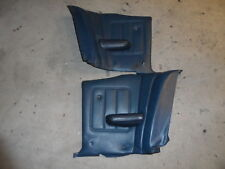 1969 1970 Mercury Cougar XR7 XR-7 Rear Seat Panels Quarter Trim Pair Blue