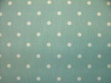 4m Prestigious Full Stop Azure Cotton Fabric Curtain Roman Blinds Upholstery