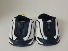 Build A Bear ~ Skechers * Navy & White Zippered Tennis Shoes w/White Flap